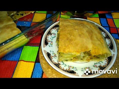 ЛУЧШИЙ Картофельный пирог со шпротами. Potato Pie #выпечка #пирог #вкусняшки #вкусняшечки