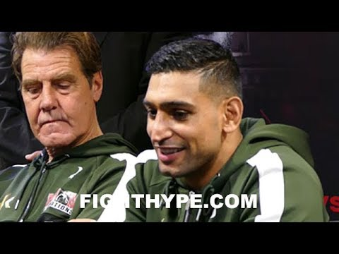 AMIR KHAN VS. PHIL LO GRECO FULL POST-FIGHT PRESS CONFERENCE
