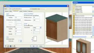 TurboFLOORPLAN návrh kuchyně (kitchen) od ŠPINAR - software