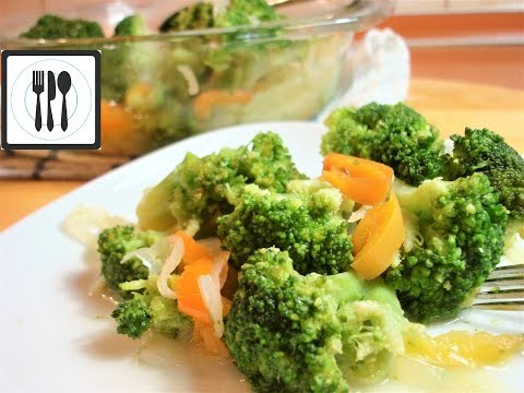 Брокколи - Вкусный и полезный гарнир. ПП рецепт. Как приготовить капусту брокколи.