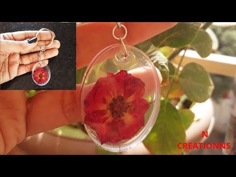 How To Make Resin Keychain | Resin Tutorial : DIY Resin Accesories : Handmade Keychain