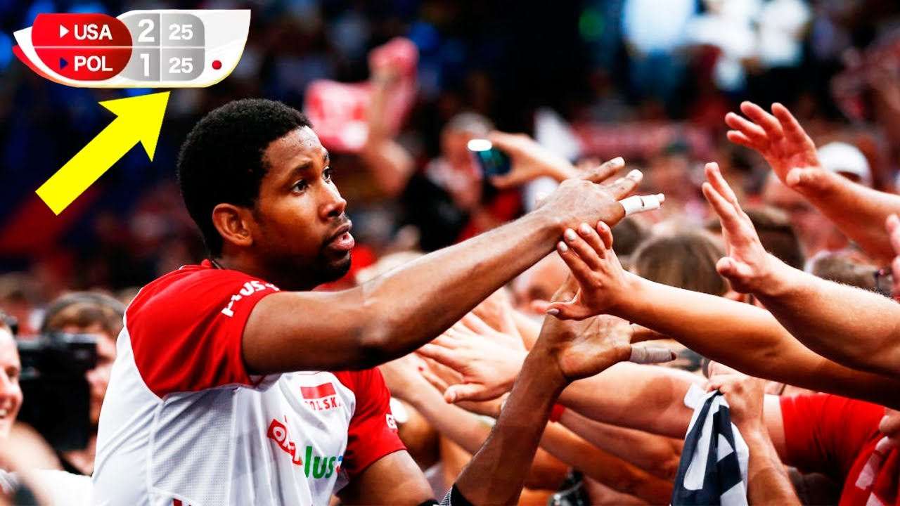 The First Match Wilfredo Leon At The World Cup 2019 | Poland National Volleyball Team