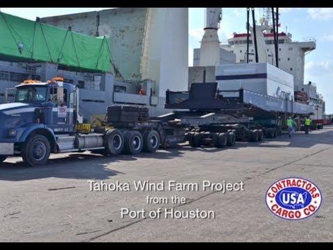Contractors Cargo - Tahoka Wind Farm Project