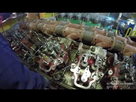 AMERICAN PHOENIX Engine Room Walk Around