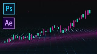 How to Create a Stock Market Graphic with Photoshop and After Effects