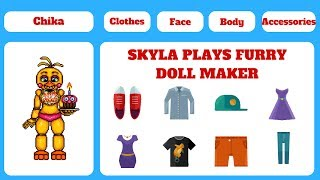 - Animatronic Doll Maker Skyla Plays Furry Doll Maker