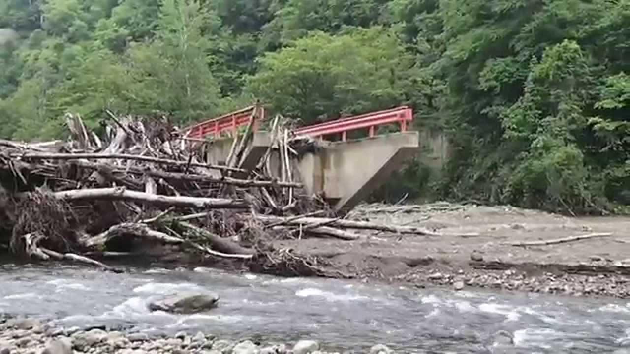 北海道で渓流ルアー!増水後の漁...