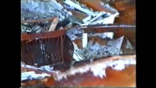 Discothek KU in Lippstadt nach dem Brand 1993
