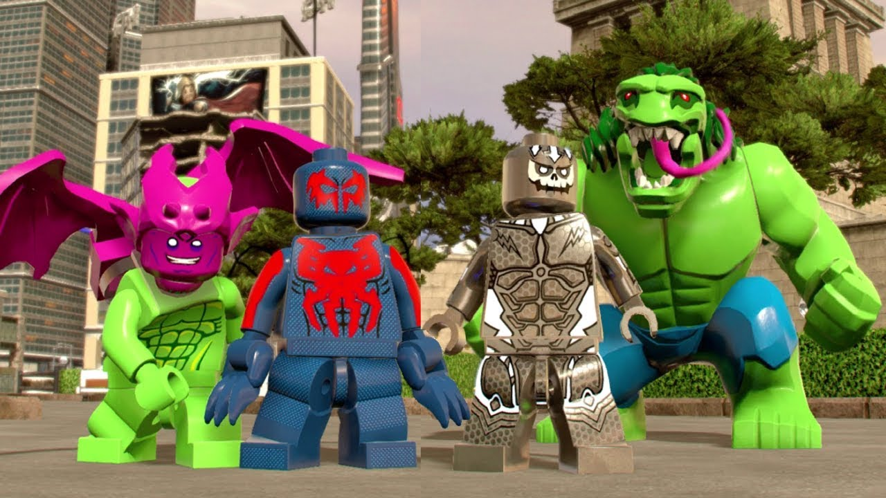 Lego Marvel Super Heroes 2 All 2099 Characters Showcased