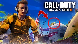 5 HIDDEN EASTER EGGS YOU MISSED on Black Ops 3!