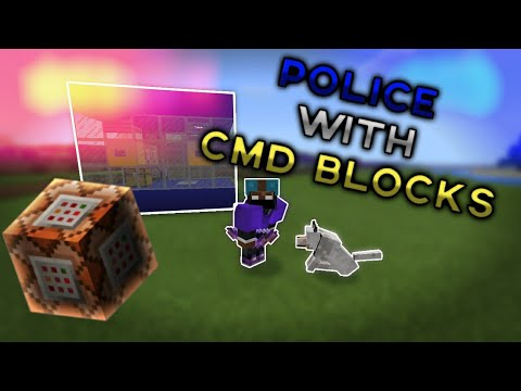 MCPE Tutorials: How To Become A Cop   Command Blocks