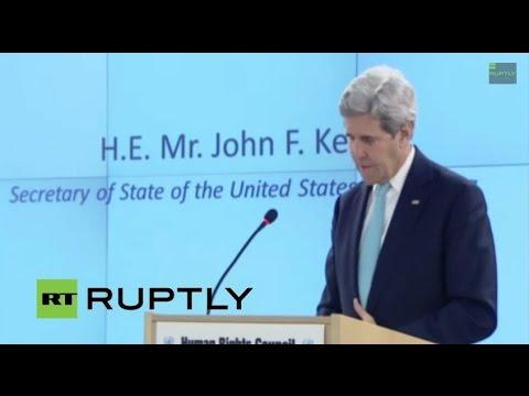 LIVE: UN Human Rights Council convenes in Geneva: Day 1
