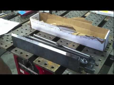 Hydraulic Shop Press Brake DIY Kit