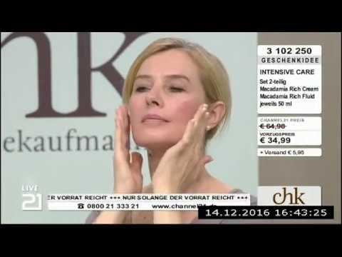 Christine Kaufmann bei Channel21 am 14.12.2016 - Teil 2