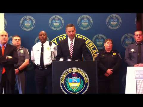 Cumberland County, Pa., DA Dave Freed On Drug Sweep