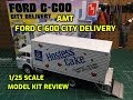 AMT 1/25 Ford C600 City Delivery Scale Model Kit Build Review AMT1139