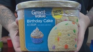 Ice Creamed My Pants - Great Value Birthday Cake Ice Cream