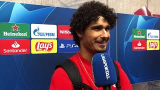 Interviews nach dem Champions-League-Spiel Salzburg gegen Genk (6:2)