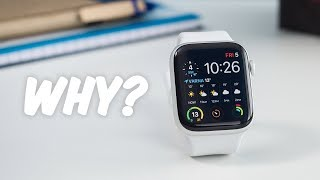 Why is the Apple Watch the most popular smartwatch?