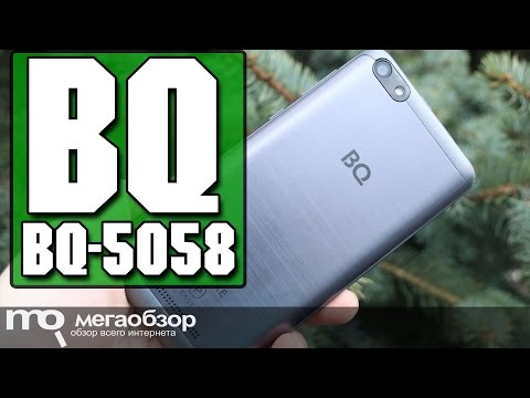 BQ-5058 Strike Power Easy обзор смартфона
