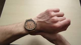 Деревянные часы. Обзор стильных часов!