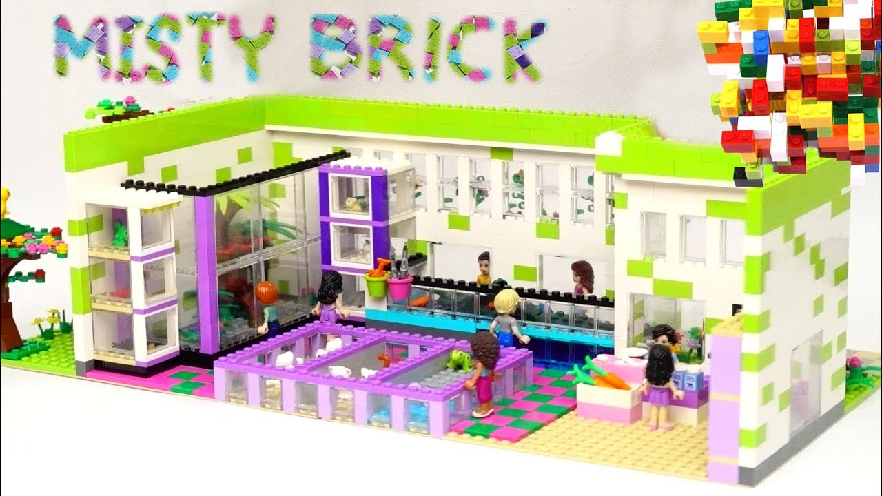Download Custom Lego Pet Shop by Misty Brick.