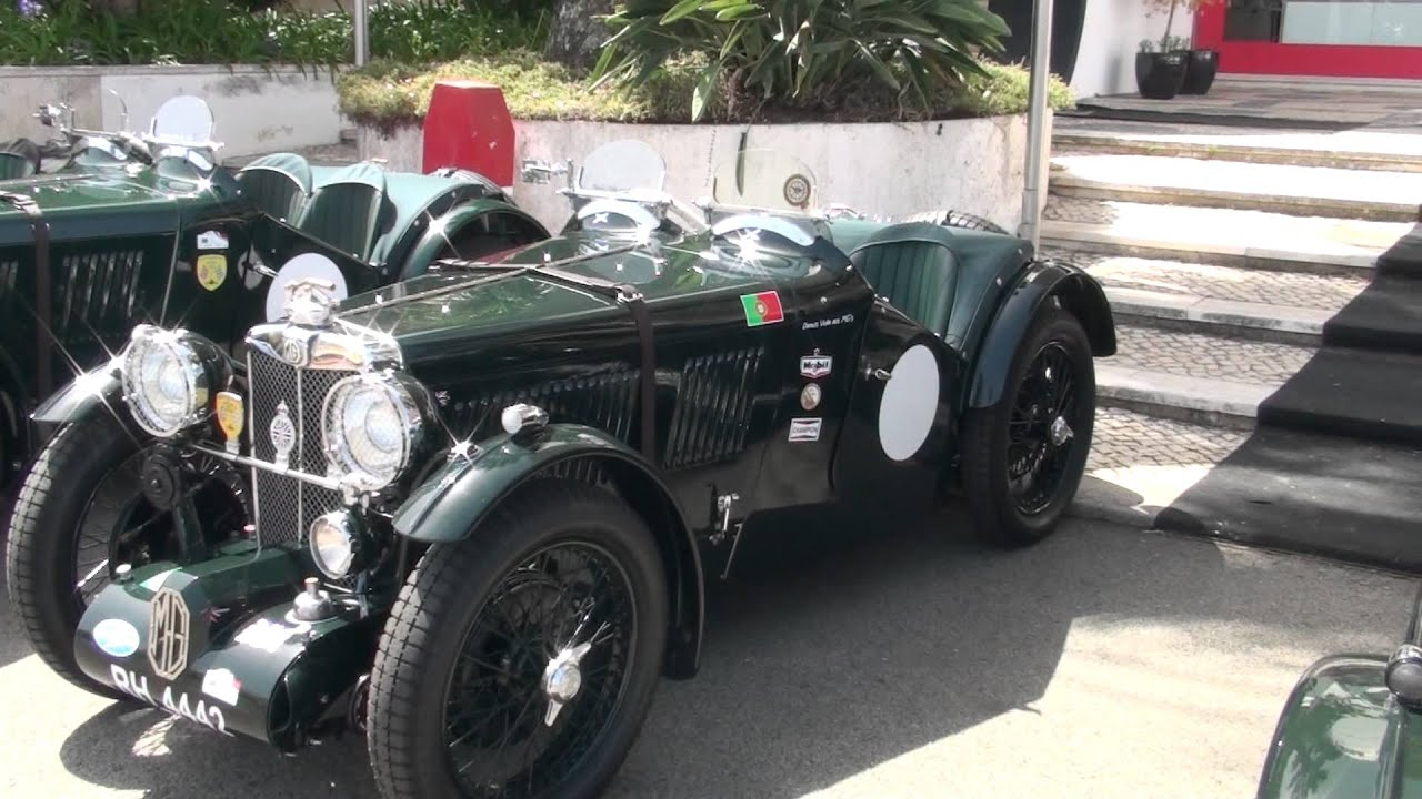 MG Classic Car Collection - Superb car view - HD - YouTube