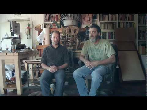 Interview with BEAUTY IS EMBARRASSING artist Wayne White & Director Neil Berkeley