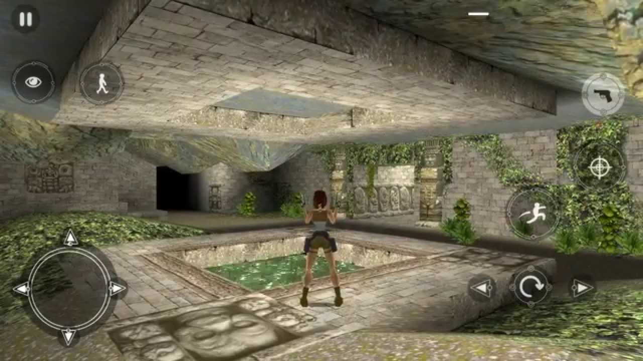 Tomb Raider 1 Android Gameplay Part 4 Youtube