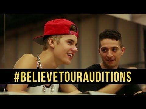 JUSTIN BIEBER BELIEVE TOUR - ONLINE DANCE AUDITIONS [DS2DIO]