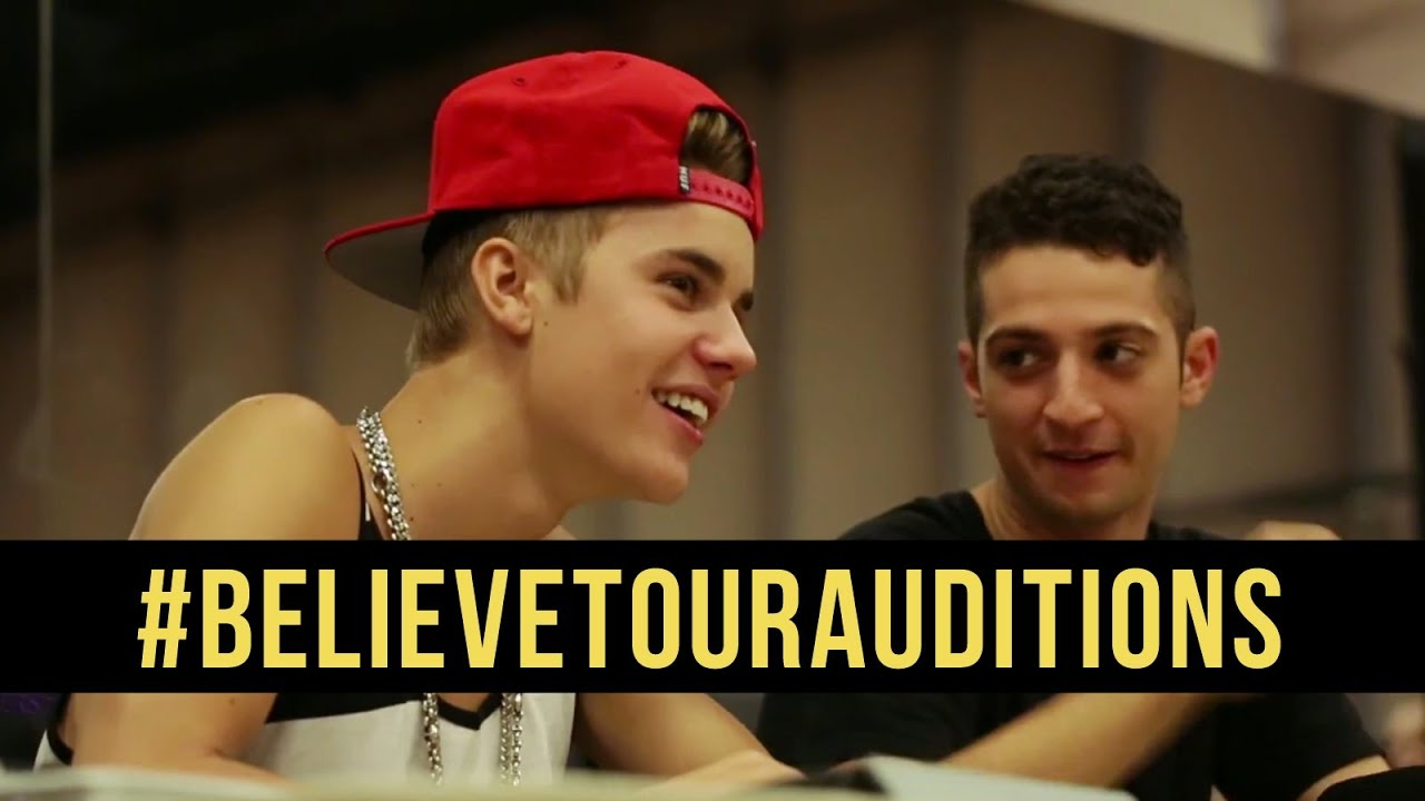 Believe Tour Auditions
