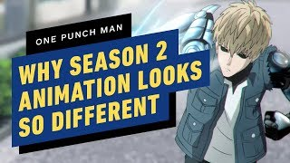 Why One-Punch Man Season 2\'s Animation Is So Different