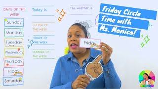 Friday 7/3/20 - Preschool Circle Time - Learn at Home