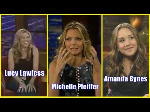 Amanda Bynes, Lucy Lawless & Michelle Pfeiffer - Unusual Guests #2 [240-480]