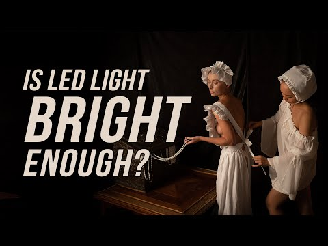Is LED Light Bright Enough for Portrait Photography? thumbnail