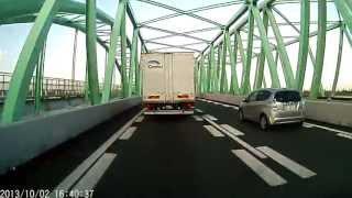 厨二チックなサウンドを流して東名阪木曽川橋