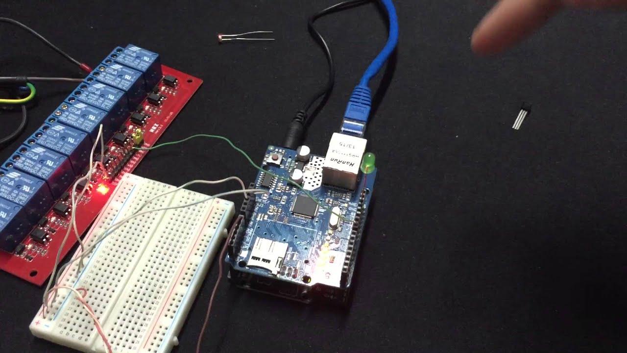 Automação residencial arduino completa kit código