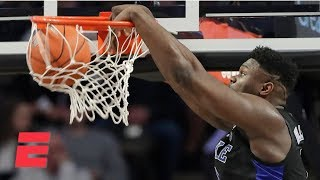 Zion Williamson scores career-high 30 as Duke routs Wake Forest | College Basketball Highlights