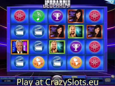 Jeopardy Slot IGT - Play Free Online Casino Games