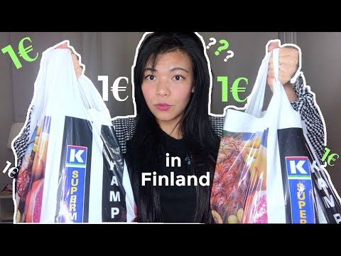 WHAT CAN YOU BUY IN FINLAND FOR 1€?🇫🇮
