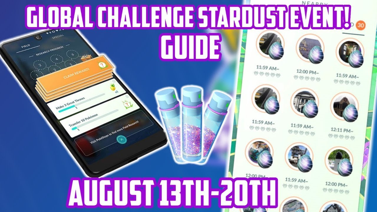 Do Not Miss This 3x Stardust Global Challenge Event In Pokemon Go!
