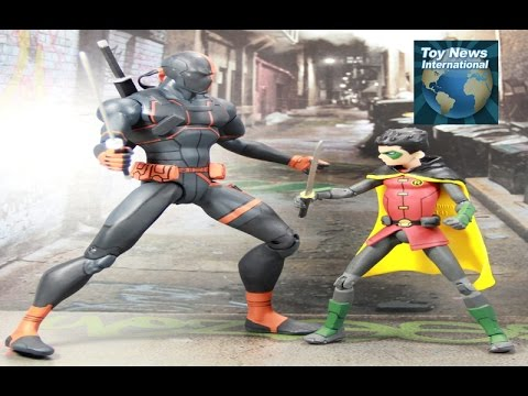 """DC Collectibles Animated Movie """"Son Of Batman"""" Figures Review - Damian Robin, Deathstrok & Nightwing"""