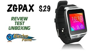 ZGPAX S29 Review: Test and Unboxing - Synchronisation of the Watchphone ZGPAX S29