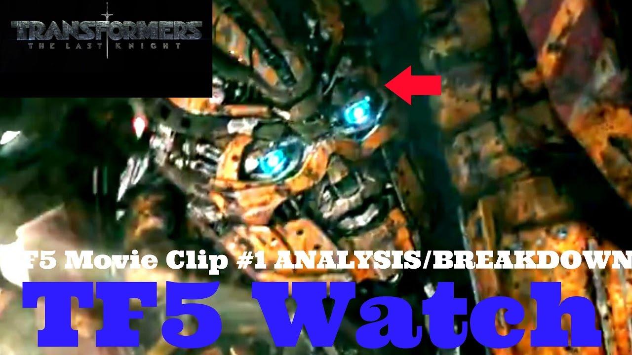 AUTOBOT CANOPY!! Movie Clip #1 ANALYSIS(TF5 Watch #99 ...