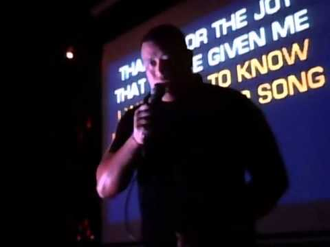 Karaoke Thursday, Collingwood Hotel, Liverpool. 7.30pm-11.30pm. Andros sings: Drift Away