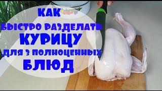 видео 6 блюд из одной курицы: мастер-класс домашней экономии