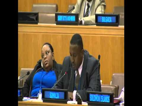 Somalia's statement at the 47th UN Commission on Population and Development