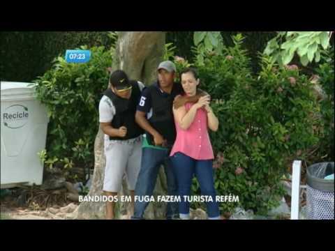Bandidos fazem turista refém em Belém