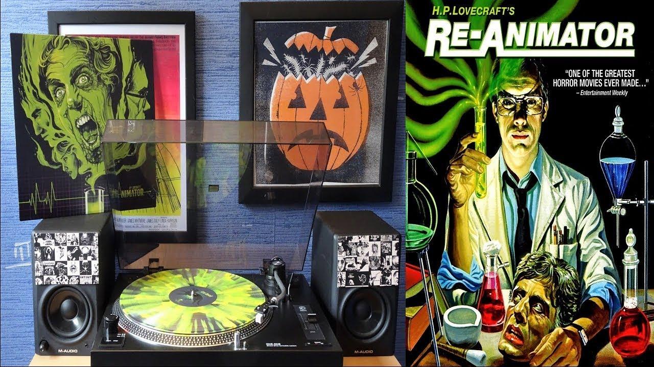 Download Re-Animator (1985) Waxwork Records Soundtrack Remastered [Full Vinyl] Richard Band