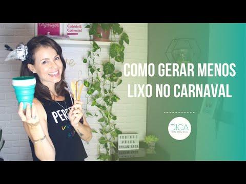 COMO GERAR MENOS LIXO NO CARNAVAL